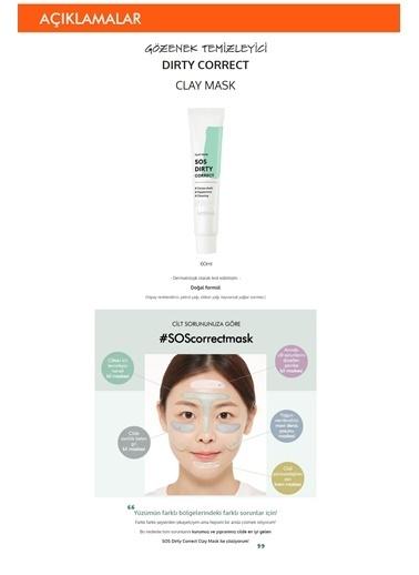 Missha Arındırıcı Naneli Kil Maskesi 70Ml Sos Dirty Correct Clay Mask Renksiz
